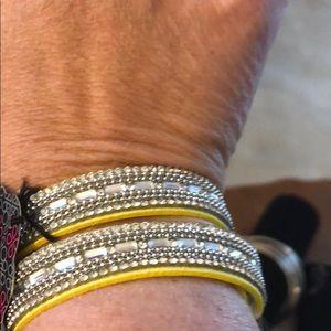 Paparazzi Full of Wonder Yellow Urban Bracelet